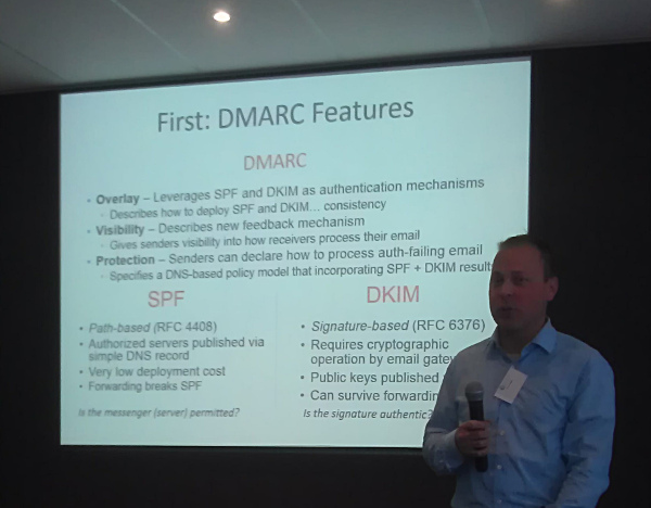 Tim Draegen over DMARC